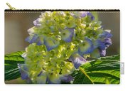 Hydrangeas First Blush Carry-all Pouch