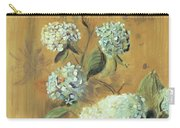 Hydrangeas Carry-all Pouch by Paul Cesar Helleu