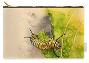 I Am Very Hungry - Monarch Caterpillar Carry-all Pouch
