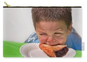 I Don't Want To - Pie Eating Contest Art Prints Carry-all Pouch