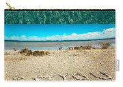 I Heart You Shores Of Lake Michigan Carry-all Pouch