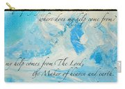 I Lift Up My Eyes Carry-all Pouch