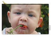 I Love Flowers Carry-all Pouch