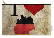 I Love Germany Carry-all Pouch