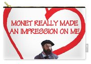 I Love Monet Carry-all Pouch
