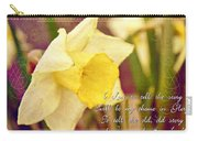 I Love To Tell The Story Carry-all Pouch by Michelle Greene Wheeler