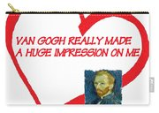 I Love Van Gogh Carry-all Pouch
