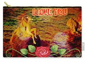 I Love You Card Carry-all Pouch