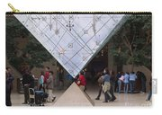 I M Pei Pyramid Inside The Louvre Entrance Carry-all Pouch