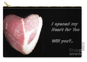 I Opened My Heart For You Carry-all Pouch