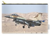 Iaf F-16c Jet Fighter Carry-all Pouch