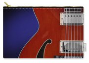 Ibanez Af75 Hollowbody Electric Guitar Front View Carry-all Pouch