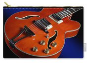 Ibanez Af75d Hollowbody Guitar In Transparent Orange Carry-all Pouch
