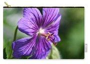 Iberian Geranium Carry-all Pouch