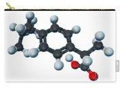 Ibuprofen, Molecular Model Carry-all Pouch