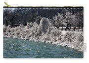 Ice Along The River Carry-all Pouch