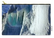 Ice Berg Up Close And Personal Carry-all Pouch