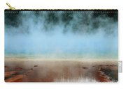 Ice Blue And Steamy Carry-all Pouch