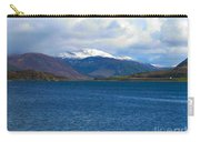 Ice Capped Mountains At Ullapool Carry-all Pouch
