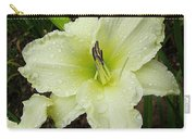 Ice Carnival Daylily Carry-all Pouch