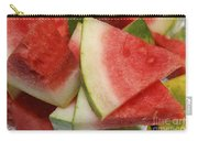 Ice Cold Watermelon Slices 2 Carry-all Pouch by Andee Design