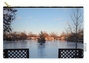 Satin Ice Covered Snow Carry-all Pouch