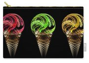 Ice Cream Cones 5 Flavors Carry-all Pouch