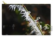 Ice Crystals In Morning Sun Carry-all Pouch