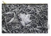1m9343-ice Crystals On Black Ice, Tetons Carry-all Pouch