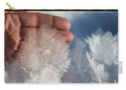 Ice Feathers Carry-all Pouch