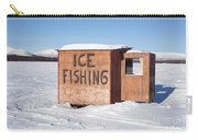 Ice Fishing Hut Carry-all Pouch