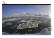 Ice Floes And Mountains Svalbard Norway Carry-all Pouch
