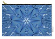 Ice Flower Fractal Carry-all Pouch