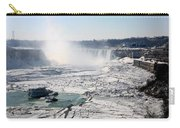 Ice Flows At Niagara Carry-all Pouch