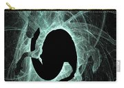 Ice Fractal Friesian Carry-all Pouch