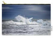 Ice In The Sea Carry-all Pouch