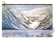 Ice Magic-lake Louise Winter Festival Carry-all Pouch