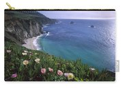 Ice Plants On Big Sur Coast Carry-all Pouch