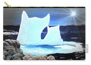 Icebergs At Sunset Carry-all Pouch