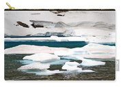 Icebergs In August Glacier International Peace Park Carry-all Pouch