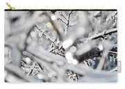 Iced Branches Carry-all Pouch