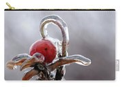Iced Rose Hips Carry-all Pouch