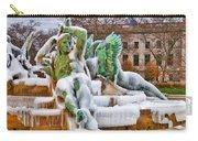 Iced Swann Fountain Carry-all Pouch