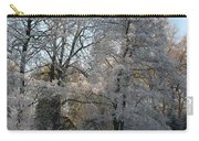 Iced Trees Carry-all Pouch