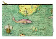 Iceland, From An Atlas Of The World In 33 Maps, Venice, 1st September 1553 Carry-all Pouch