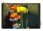 Iceland Poppies In The Sun Carry-all Pouch