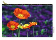 Iceland Poppy Carry-all Pouch