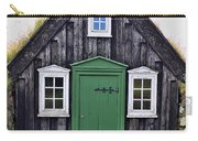 Icelandic Old House Carry-all Pouch