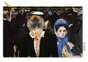 Icelandic Sheepdog Art Canvas Print Carry-all Pouch
