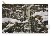 Icicle Rocks Carry-all Pouch